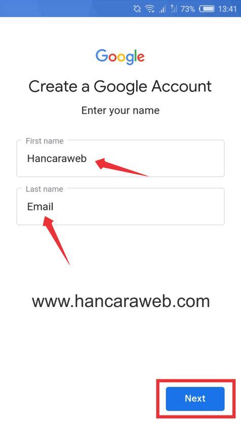 cepat membuat email  hp gmail yahoo  menit