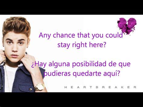 Biography Justin Bieber En Ingles | justin bieber heartbreaker oficial letra espa 241 ol ingl 233 s