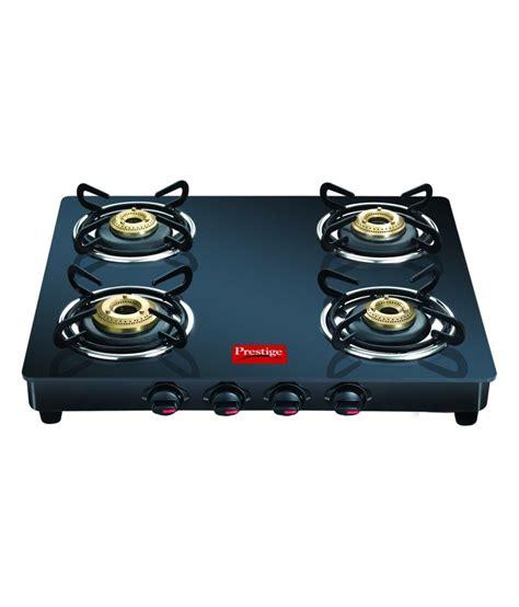 pre pay prestige gtm04 black 4 burner glass manual gas stove deals coupons thuttu