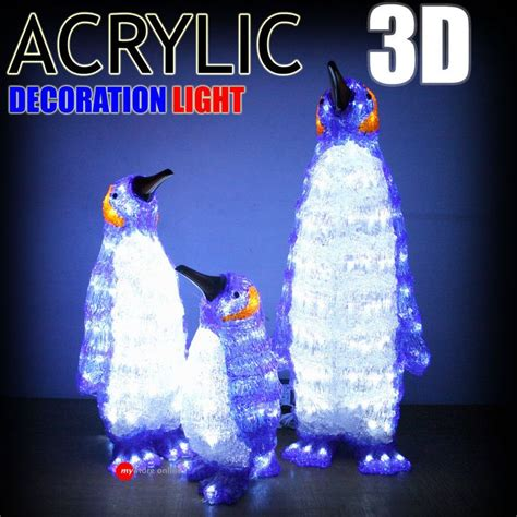 penguin lights penguin lights decorations