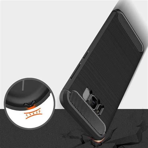 S Line Carbon Tpu Cover For Samsung S8 Plus Hitam carbon cover tpu for samsung galaxy s8 g950 black black hurtel pl gsm