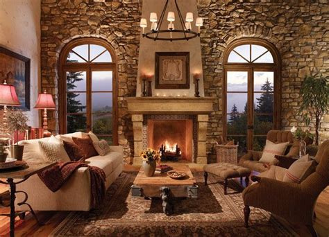tuscan living room with stone fireplace and note the 20 living room with fireplace that will warm you all