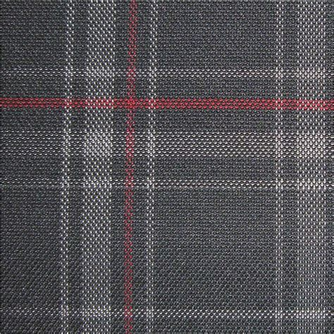 plaid automotive upholstery fabric upholstery by linear yard grey black red plaid