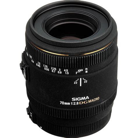 sigma 70mm f 2 8 ex dg macro af lens for nikon af 270306 b h