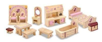 melissa and doug dolls house furniture childrens child melissa and doug princess castle dolls house furniture