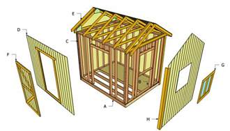 Outside Storage Shed Plans by More Gable Storage Shed Plans Free Indr