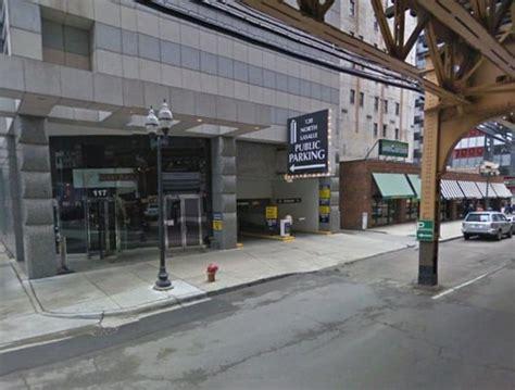 The Garage Chicago by 120 Lasalle Parking Garage Parking