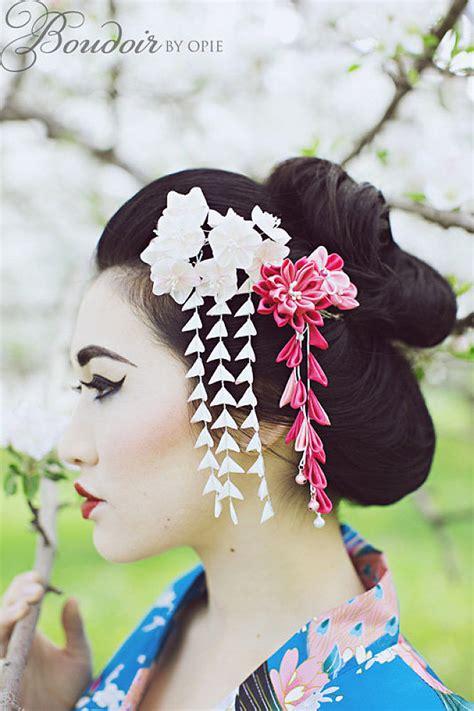 Light Pink Lingerie Geisha Boudoir
