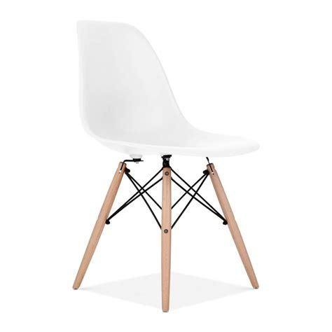Scandinavian Inspired Furniture eames style white dsw chair cafe amp side chairs cult