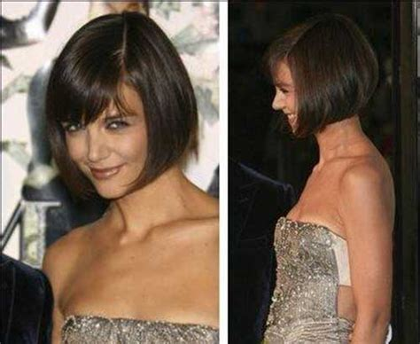 how to cut a katie holmes bob good katie holmes bob haircuts short hairstyles 2017