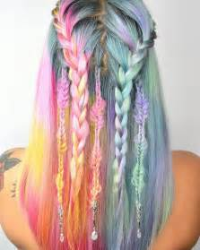 with colorful hair unicorn hair trend is a fantastical way to celebrate the