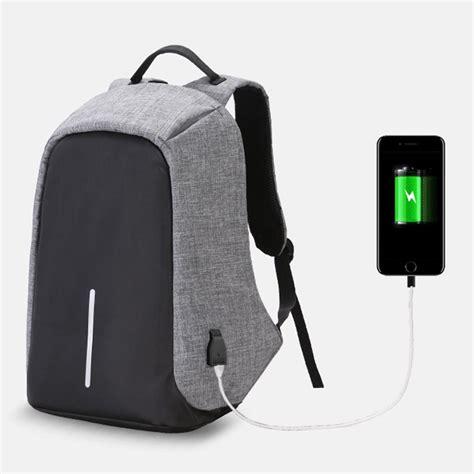 tas ransel laptop anti maling untuk pria wanita carion