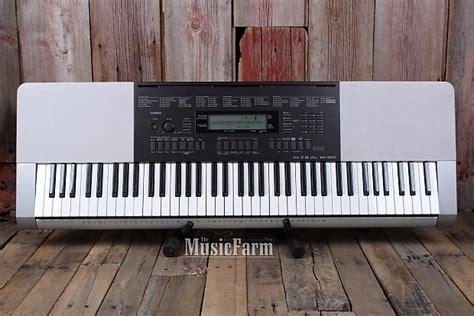Keyboard Casio Wk 220 Baru casio wk 220 electric keyboard 76 key touch sensitive with