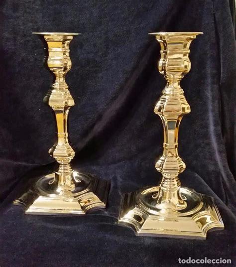 candelabros plata excepcionales candelabros plata pedro duran comprar