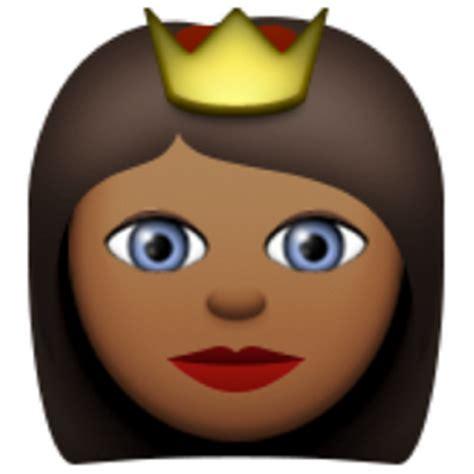 emoji queen deeper brown princess emoji u 1f478 u 1f3fe