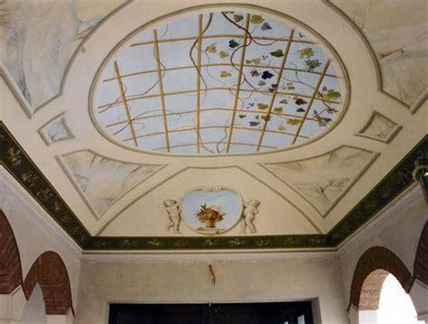 soffitti a volta foto decorazione pittorica soffitto a volta in esterno de