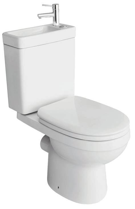 toilet and sink in one cooke lewis duetto coupled toilet with integrated