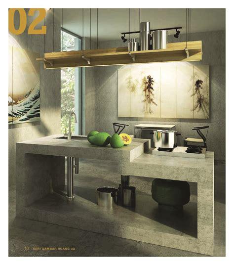 Desain Dapur Ekonomis | seri gambar ruang 3d 21 desain dapur ekonomis book by