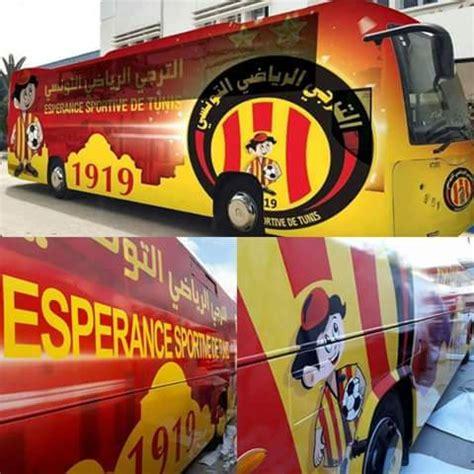 un nouveau bus pour l'espérance sportive de tunis