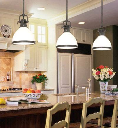 Mini Pendants Lights For Kitchen Island by Lighting A Kitchen Lightsplusdecor
