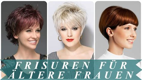 verjuengende frisuren fuer aeltere damen  youtube