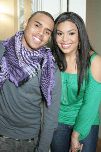 Jordin Sparks And Chris Brown On The Set Of No Air by Chris Brown Jordin Sparks Pix Tigerbeat