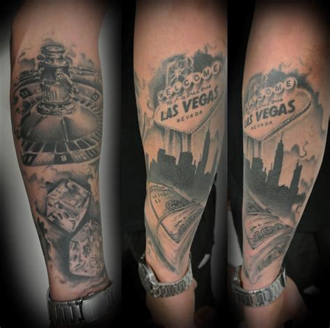 las vegas tattoos by lou shaw of four aces in aldinga