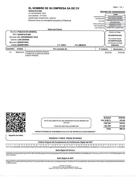 recibos de honorarios 2016 recibo de honorarios 2015 asesoria tributaria