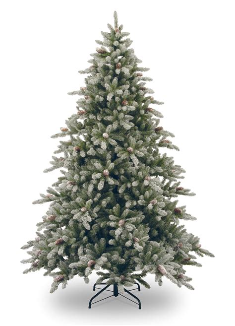 9ft snowy concolor fir artificial christmas tree hayes