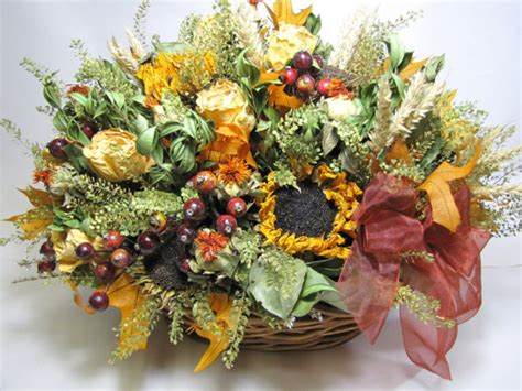 fall floral arrangement dried flowers fall centerpiece dried floral by summersweet boutique