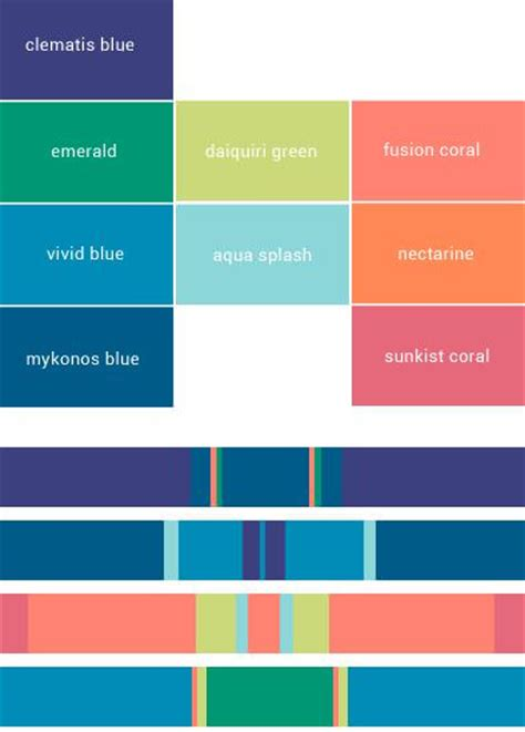 color palette pantone 2015 color of the year elevee events
