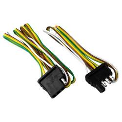 attwood 174 4 way flat wiring harness kit for vehicles and trailers academy