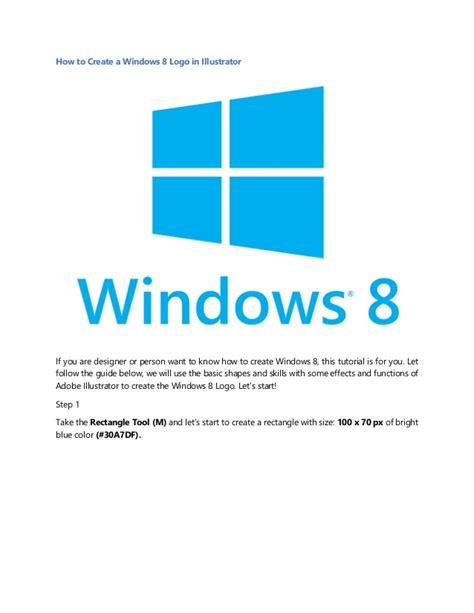 adobe illustrator cs6 no abre en windows 8 1 how to create a windows 8 logo in illustrator