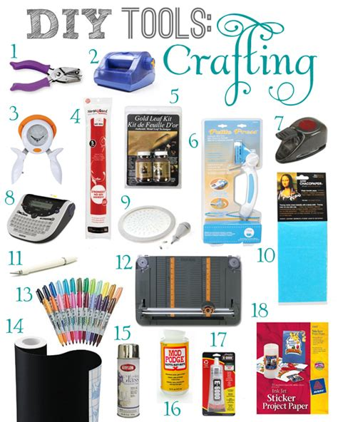 Tools For Papercraft - diy tools crafting teal and lime by jackie hernandez