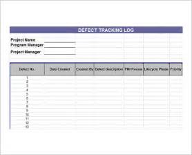 Bug Tracking Template by Issue Tracking Template 7 Free For Pdf Excel