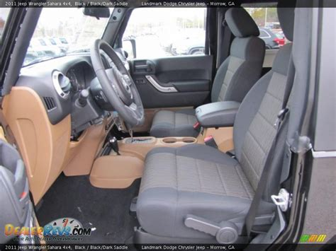 black saddle interior 2011 jeep wrangler 4x4