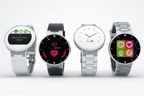 android compatible smartwatch alcatel onetouch announces android ios compatible smartwatch