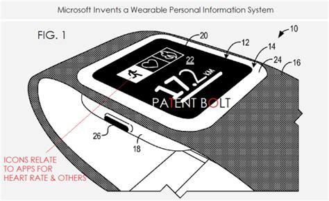 Jam Microsoft microsoft dilihat menerima paten baru untuk jam tangan pintar amanz