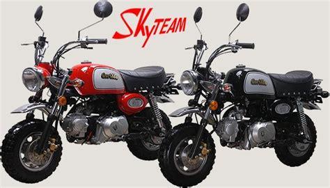 Mini Motorrad Gorilla by Skyteam St 125 8a 125ccm Gorilla Replikat Euro 4