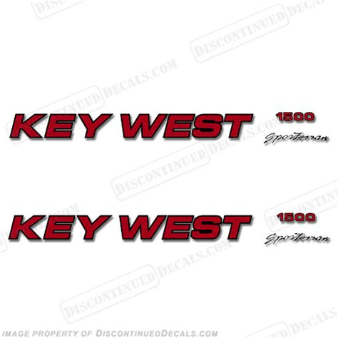 key west boats decal key west decals