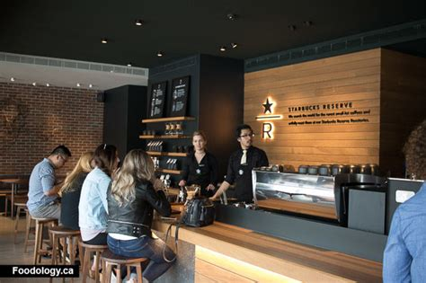 Craftmanship by Starbucks Reserve Coffee Bar Now In Vancouver Foodology