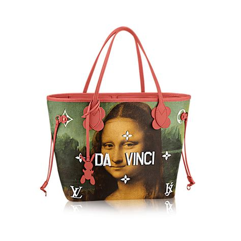 Fashion Bag By Lysa Collection by Louis Vuitton Masters Collection By Jeff Koons Spotted