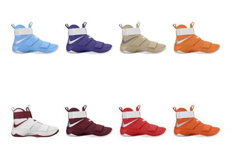 team bank nike lebron soldier 10 team bank collection sneakerfiles