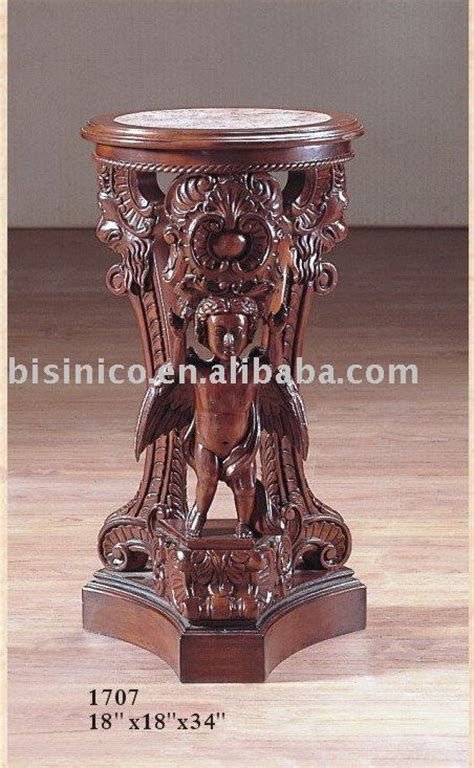 hand carved wood coffee table antique accent furniture end solid wood hand carving antique end table with marble top