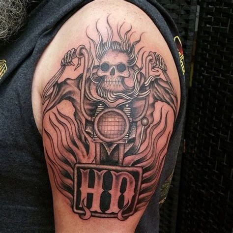 50 fearless outlaw biker tattoo designs for brutal men