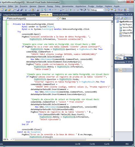imagenes visual basic 2010 instalar visual studio 2010 y desarrollar aplicaci 243 n con