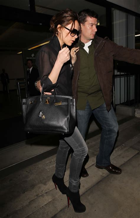 Beckham A Hermes Purse And One Bad Hat by Beckham Leather Tote Beckham Looks