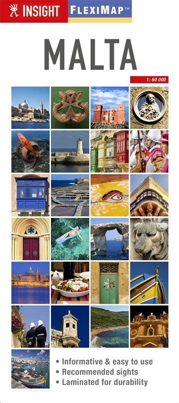 insight guides flexi map malta insight flexi maps books insight guides travel advice travel guides and maps