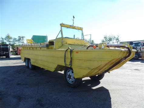 ww11 duck boats for sale 1943 wwii hibious dukw by gmc hibious vehicle duck