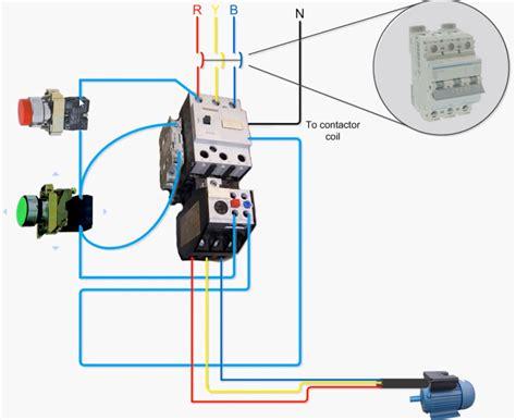 dol circuit wiring diagram electricalu